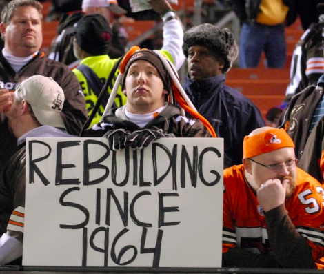 Browns Rebuilding